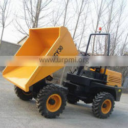 4WD Diesel dumper truck 3 tons with CE certificate