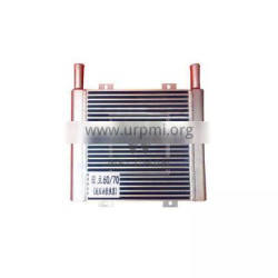 Excavator ZX60 ZX70 Hydraulic Oil Cooler Assy Aluminum Thicken Cooling System
