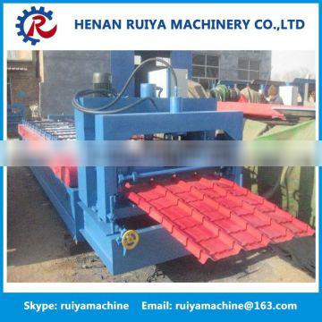 Hot sales Corrugation Color Glazed Steel Roof Tile Roll Forming Making Machine Quality Choice