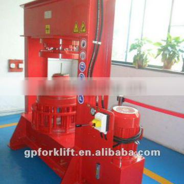 high quality 80 Ton tyre press forklift assemble & disassemble solid tyre machine