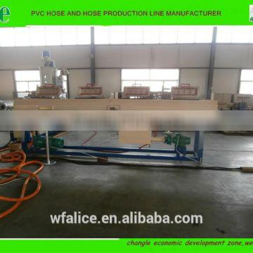 Agriculture lay flat hose extrusion line
