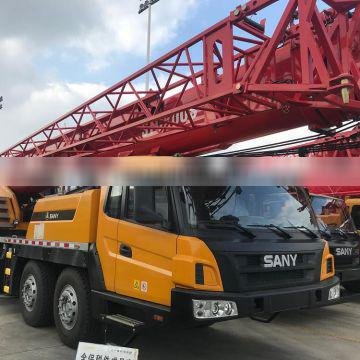 Stock sell Truck crane 50t price of mobile crane