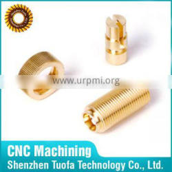 China supplier custom precision OEM machining brass lamp parts