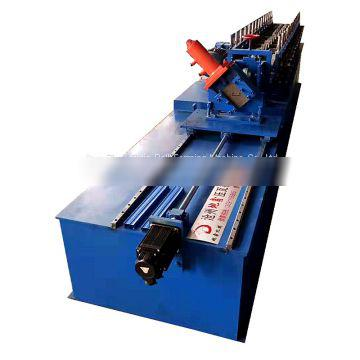 2019 galvanized u/c shaped purlin stainless roll forming machine prices