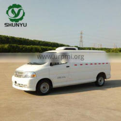 reefer vehicle freezer car frozen refrigerator truck