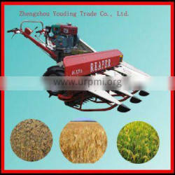 1.2m Cutting width small paddy rice harvester with discount