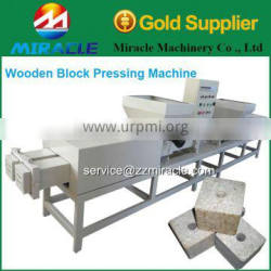 Hot press wood pallet block machine/sawdust press pallet block machinery