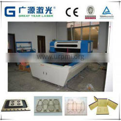 Up to 22mm plywood cutting double laser haeds die blade cutting machine