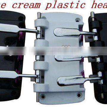 guangzhou manufacturer custom soft ice cream machine plastic head made in china