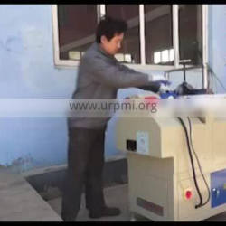 Pvc window mullion profile V notch cutting saw upvc window making machine