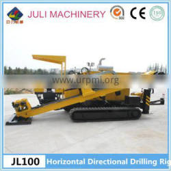 Underground pipe laying machine, JL100 Horizontal Directional Drilling machine with 10 ton capacity