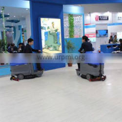 CE approved for supermarket hospital used small ride on floor scrubber drier