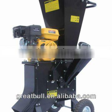 6.5hp gasoline HSS chipping knives wood machine crusher chipper