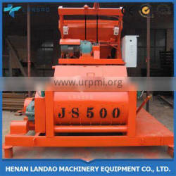 Concrete mixing machine for cement and sand