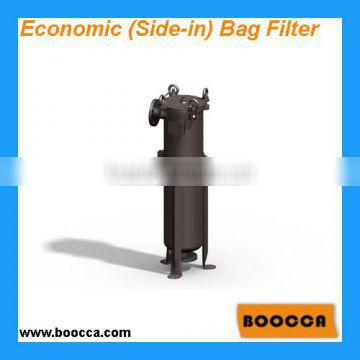 Flat Cover Bag Filter housing