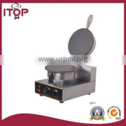 all stainless steel construction electric waffle baker