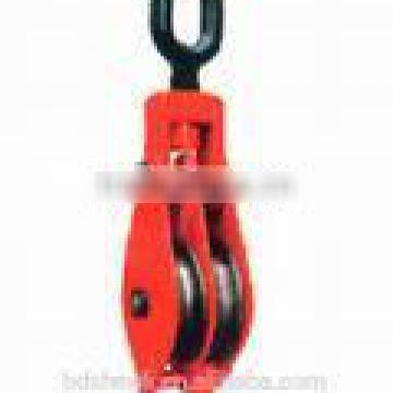 pulley block double with oval eye B type
