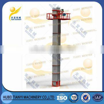China supplier large capacity long life Vertical ring chain Cement Bucket Elevator for sale