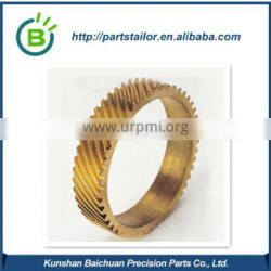 china manufacture high quality cnc brass spare parts BCR 0630