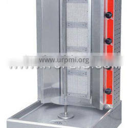 stainless steel gas shawarma catering equipment
