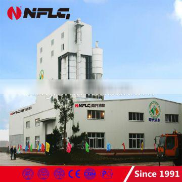 New design high efficiency dry mix mortar plant in china with technical expert team