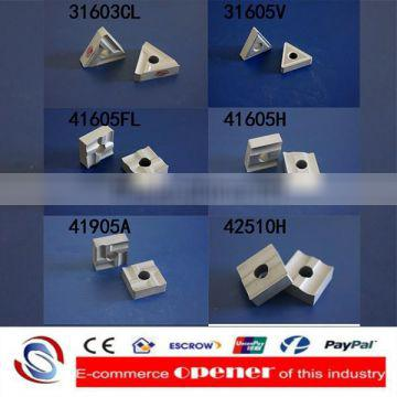cvd pcd pcbn coated uncoated chamfer cemented tungsten carbide clamped indexable turning insert threading insert cutter holder