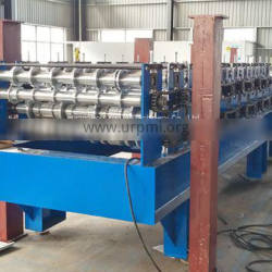 Double Layer Ibr Trapezoidal Metal Aluminum Roofing Roll Forming Machine