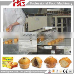 Full automatic cupcake line made in China