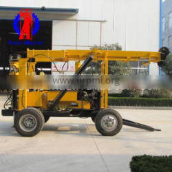 XYX-3 wheeled hydraulic core drilling rig