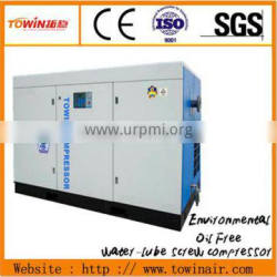 Variable Frequency oilless screw compressor pure air TW 110S