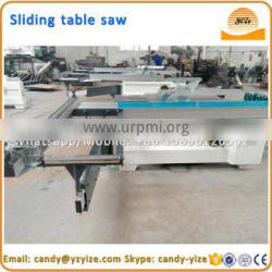 woodworking sliding table saw cutting machine panel saw
