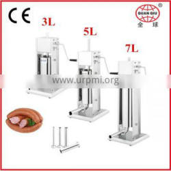 Vertical stainless steel french hot dog machine with CE