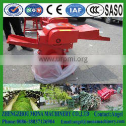 Mini electrical chaff chopper machine for feed straw cutting/Electric&diesel engine small grass crusher