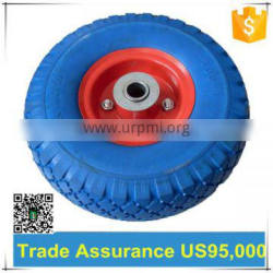 10 inch pneumatic rubber wheel/cart wheel for sale
