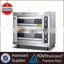 2016 Commercial Bakery Equipment K263 2-Layer 4-Tray For Mini Bakery Industrial Gas Ovens For Mini Bakery