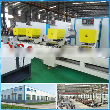 Four heads seamless welding equipment UPVC window making machine