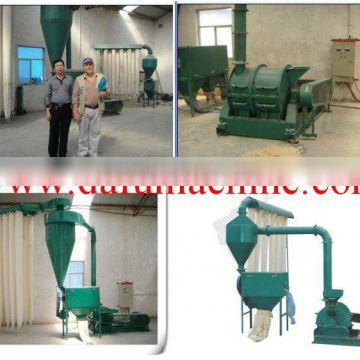 high efficiency wood powder machine