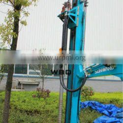 SWDL150 Spiral piling machine for construction project