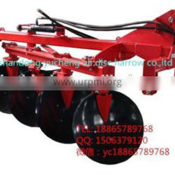 Hydraulic reversible plough rotary plough