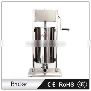 15L Stainless Steel Vertical Manual Sausage Filling Making Machine Stuffer with Hands