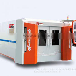 Golden laser | GF-1530JH fiber laser cutting machine with pallet table for sale