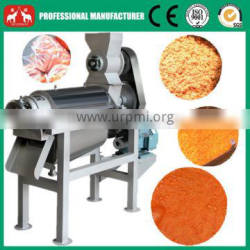 wide output range full stainless steel Fruit & Vegetable Processing Machines strawberry pulping machine