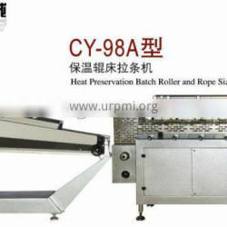 CY-98A heat preservation batch roller and rope sizer