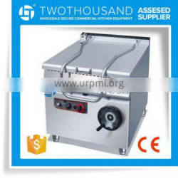 High Quality 60L Tilted Electric Soup Boiling Pan Machine With Shipment Service