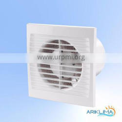 Axial electric thin wall fan for duct with insect screen SLIM-S