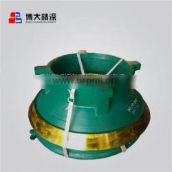 Mn18Cr2 cone crusher wear parts concave and mantle applyto Telsmith Cone Crusher Wear Parts