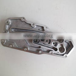 dongfeng truck Diesel Engine parts oil cooler cover ISBE oil Filter seat 5273377 3284170