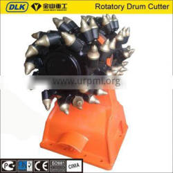Hydraulic rotatory drum cutter for 16-25 ton excavator