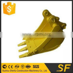 china standard bucket for 1T excavator from manufacturer
