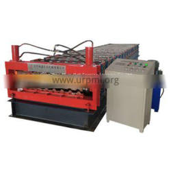 Double Layer trapezoidal Profile Steel Roofing Sheet Roll Forming Machine